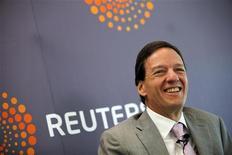 <p>Diretor de finanças da América Móvil, Carlos García Moreno, durante o Reuters Latin American Investment Summit, na Cidade do México. 30/03/2011 REUTERS/Claudia Daut</p>