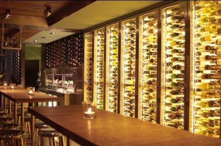 Contemporary Amsterdam wine bar Vyne is pictured in this undated photograph obtained on April 1, 2011. REUTERS/Handout