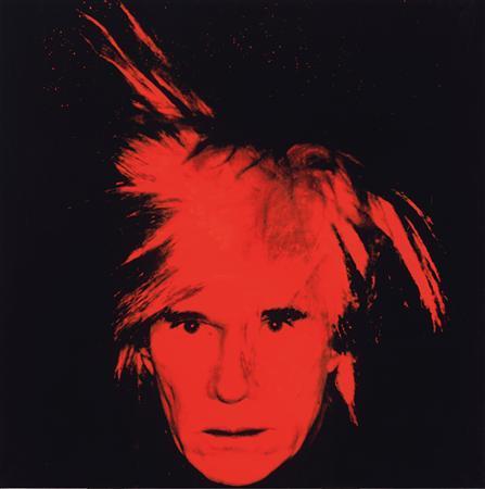 Andy Warhol's 1986 'Self-Portrait'. REUTERS/Christie's