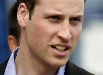 <p>Britain's Prince William leaves the Emergency Management Centre at the Art Gallery in Christchurch March 17, 2011. REUTERS/Mick Tsikas</p>