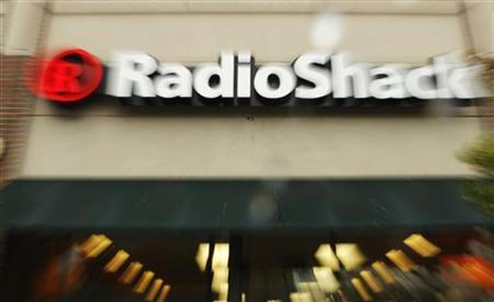 A Radio Shack store is seen in Cambridge, Massachusetts April 28, 2008. REUTERS/Brian Snyder