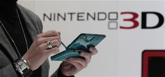 <p>Foto de archivo. Nintendo 3DS en la feria CeBIT de Hanover REUTERS/Tobias Schwarz</p>