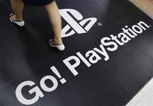 <p>Anuncio de PlayStation en una tienda electrónica de Tokio REUTERS/Yuriko Nakao</p>