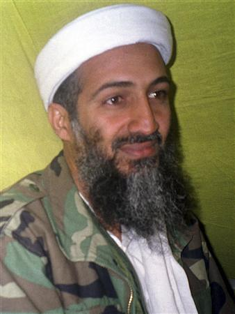 Saudi dissident Osama bin Laden is seen speaking to journalists at an undisclosed place in Afghanistan, in this file picture taken December 23, 1998. REUTERS/Stringer/Files