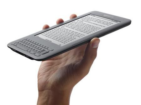 The Amazon Kindle Wi-Fi e-book reader is shown in this undated publicity photo released to Reuters July 28, 2010. REUTERS/Amazon.com/Handout