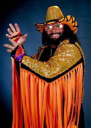 ''Macho Man'' Randy Savage in an undated publicity photo. REUTERS/WWE