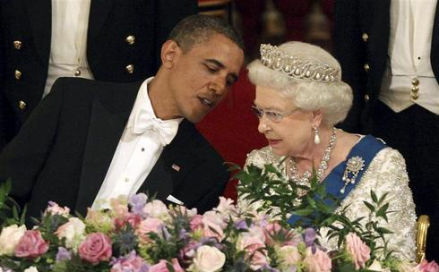 Obama meets the Queen
