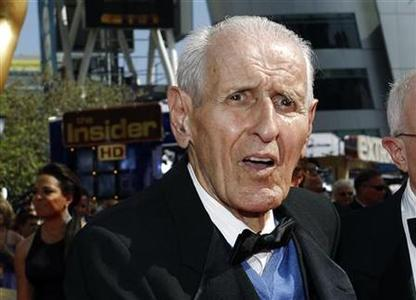 Dr. Jack Kevorkian poses at the 62nd annual Primetime Emmy Awards in Los Angeles, California August 29, 2010. REUTERS/Mario Anzuoni