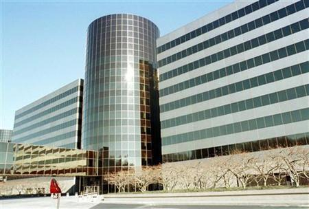 General view of the exterior of Mobil Corp. headquarters in Fairfax, Va.,December 1. Reuters/file