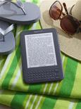 <p>The Amazon Kindle Wi-Fi e-book reader is shown in this publicity photo released to Reuters on July 28, 2010. REUTERS/Amazon.com/Handout</p>