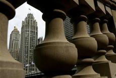<p>The Tribune Tower in Chicago, April 2, 2007.REUTERS/John Gress</p>