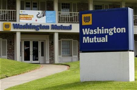 A Washington Mutual Bank (WaMu) is shown here in Solana Beach, California September 26, 2008.REUTERS/Mike Blake