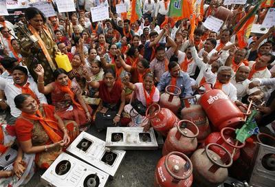 Fuel price hike protests