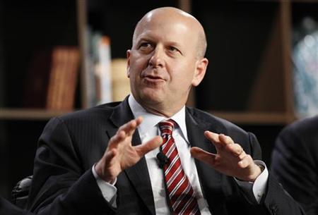 David Solomon, Managing Director and Co-Head of the Investment Banking Division, Goldman Sachs, participates in the Corporate Debt Financing and Economic Recovery panel at the 2010 Milken Institute Global Conference in Beverly Hills, California April 28, 2010. REUTERS/Danny Moloshok
