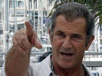 "<p>Cast member Mel Gibson poses during a photocall for the film ""The Beaver"", by director Jodie Foster, at the 64th Cannes Film Festival, May 18, 2011. REUTERS/Jean-Paul Pelissier</p>"