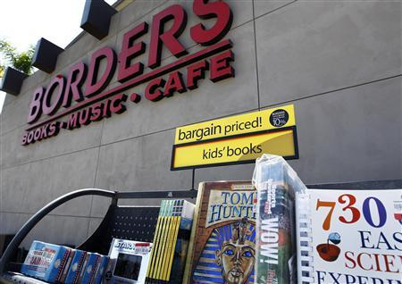 A Borders book store is shown in San Diego July 18, 2011. REUTERS/Mike Blake