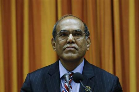 Reserve Bank of India (RBI) Governor Duvvuri Subbarao attends a monetary policy review meeting in Mumbai July 26, 2011. REUTERS/Danish Siddiqui