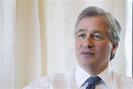 Jamie Dimon, CEO and chairman of JPMorgan Chase & Co., answers a question in his office in New York, in this photo taken December 22, 2010. REUTERS/Lucas Jackson
