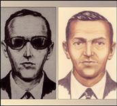<p>Accused skyjacker D.B. Cooper is shown in these FBI sketches released to Reuters August 1, 2011. REUTERS/FBI/Handout</p>