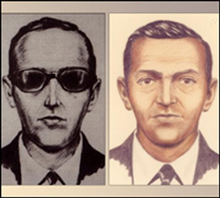 Accused skyjacker D.B. Cooper is shown in these FBI sketches released to Reuters August 1, 2011. REUTERS/FBI/Handout