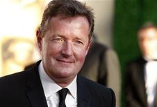 <p>CNN host Piers Morgan arrives at the BAFTA Brits to Watch event in Los Angeles, California July 9, 2011. REUTERS/Fred Prouser</p>