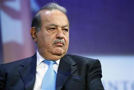 Carlos Slim, Chairman of Grupo Carso participates in a panel discussion at the Clinton Global Initiative, in New York, September 24, 2009. REUTERS/Chip East