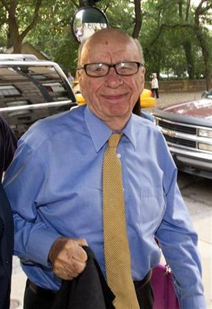News Corporation Chairman and Chief Executive Rupert Murdoch arrives at his home in New York July 20, 2011. REUTERS/Lucas Jackson