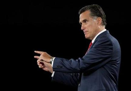 U.S. Republican presidential candidate and former Massachusetts Governor Mitt Romney speaks during the American Principles Project Palmetto Freedom Forum in Columbia, South Carolina September 5, 2011. REUTERS/Chris Keane