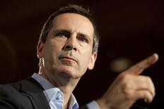 <p>Ontario Premier Dalton McGuinty gestures as he releases the Liberal Party Election Platform during a news conference in Toronto September 5, 2011. The 40th Ontario general election is scheduled for October 6, 2011. REUTERS/ Brett Gundlock</p>