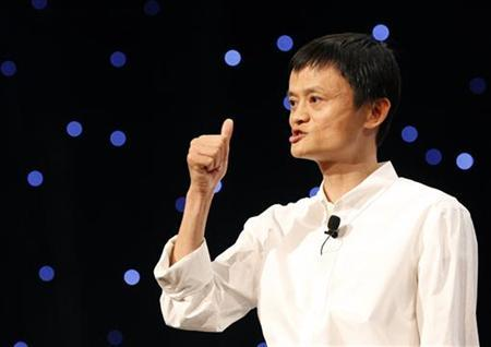 Chairman and Chief Executive of Alibaba Group Jack Ma delivers a speech at the 8th Netrepreneur Summit in Hangzhou, Zhejiang province September 10, 2011. REUTERS/Steven Shi