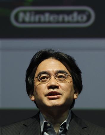 Nintendo President Satoru Iwata speaks during the Nintendo 3DS Conference 2011 in Tokyo September 13, 2011. REUTERS/Toru Hanai