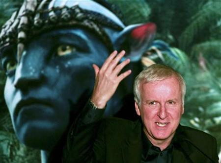 Canadian director James Cameron attends the launch of the movie ''Avatar'' in Blu-Ray Disc and DVD in Sao Paulo April 11, 2010. REUTERS/ Fernando Donasci