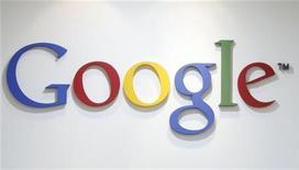 <p>شعار شركة جوجل في مكتب في كوريا الجنوبية يوم 3 مايو ايار 2011. رويترز</p>