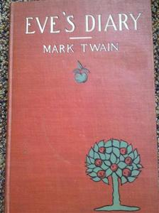 The cover to Eve's Diary by Mark Twain is seen in a handout photo. REUTERS/Courtesy of Charlton Public Library/Handout