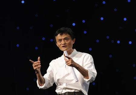 Chairman and Chief Executive of Alibaba Group Jack Ma delivers a speech at the 8th Netrepreneur Summit in Hangzhou, Zhejiang province September 10, 2011.Saturday. REUTERS/Lang Lang