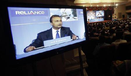 Anil Ambani, chairman of the Reliance Anil Dhirubhai Ambani Group, speaks during the annual general meeting of Reliance Capital in Mumbai September 27, 2011. REUTERS/Danish Siddiqui/Files