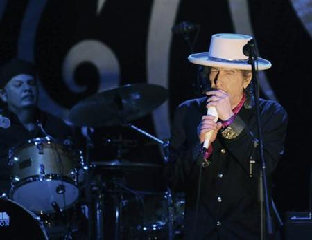 Rock legend Bob Dylan performs in Ho Chi Minh city in this April 10, 2011 file photograph. REUTERS/Stringer/Files