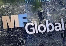 <p>The sign marking the MF Global Holdings Ltd. offices at 52nd Street in midtown Manhattan is seen in New York November 2, 2011. REUTERS/Shannon Stapleton</p>