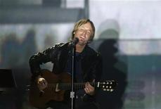 "<p>Singer Keith Urban performs ""Without You"" at the 46th annual Academy of Country Music Awards in Las Vegas April 3, 2011. REUTERS/Steve Marcus</p>"
