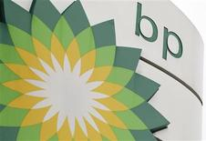 <p>A BP logo is seen on a petrol station in London in this November 2, 2010 file photo. REUTERS/Suzanne Plunkett/File</p>