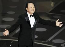<p>Presenter Billy Crystal stands on stage during the 83rd Academy Awards in Hollywood, California, February 27, 2011. REUTERS/Gary Hershorn</p>