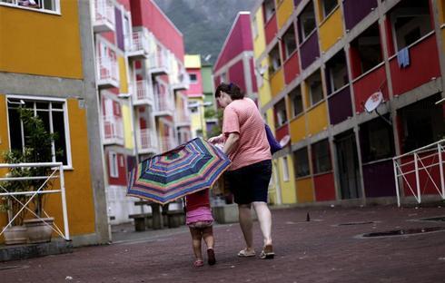 The slums of Rio