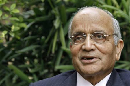 Chairman of Maruti Suzuki India R.C. Bhargava speaks during an interview for the Reuters India Investment Summit at his residence in Noida on the outskirts of New Delhi November 21, 2011. REUTERS/B Mathur