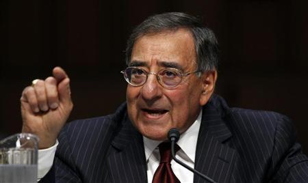U.S. Secretary of Defense Leon Panetta testifies during a hearing held by the Senate Armed Services Committee on security issues relating to Iraq on Capitol Hill in Washington November 15, 2011. REUTERS/Kevin Lamarque