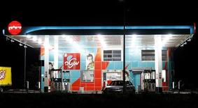 <p>A Delek petrol station is seen near the southern city of Ashdod July 27, 2011. REUTERS/Amir Cohen</p>