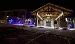 <p>A view of the Park City Regional Medical Center where actor Tracy Morgan was transported to after collapsing at the Spotlight Initiative Award Gala Dinner during the Sundance Film Festival in Park City, Utah, January 22, 2012. REUTERS/Jim Urquhart</p>