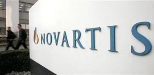 <p>Le groupe pharmaceutique suisse Novartis s'attend à une dégradation de sa rentabilité en 2012 et publie des résultats trimestriels inférieurs aux attentes en raison de charges exceptionnelles et d'effets de change. /Photo d'archives/REUTERS/Arnd Wiegmann</p>