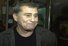 "<p>Actor James Farentino is interviewed at the premiere of his film ""Bulletproof"" in Los Angeles in this August 28, 1996 still image taken from video. Farentino, who played more than 100 roles in TV, film and on stage, has died at age of 73, a family spokesman said on January 25, 2012. Farentino was a regular face in TV series such as ""ER"", where he played the father of George Clooney's character, in 1996, ""Dynasty"" and ""Melrose Place"". REUTERS/Reuters TV</p>"