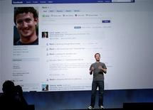 <p>Facebook CEO Mark Zuckerberg in San Francisco, September 22, 2011. REUTERS/Robert Galbraith</p>