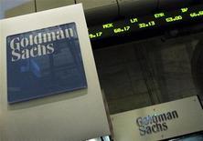 <p>La banque d'affaires américaine Golman Sachs veut se développer en Europe et ce dans tous les domaines, que ce soit le courtage, l'émission d'actions et d'obligations, le conseil en fusions & acquisitions ou encore la gestion de fortunes, selon Gary Cohn, son directeur général délégué. /Photo d'archives/REUTERS/Brendan McDermid</p>